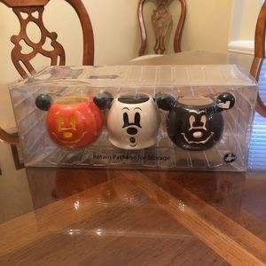 Disney Parks Authentic Halloween Votive Set NEW